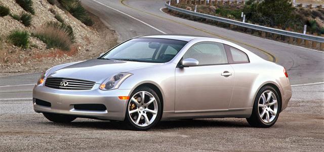 2005 infiniti g35 coupe 0-60 automatic