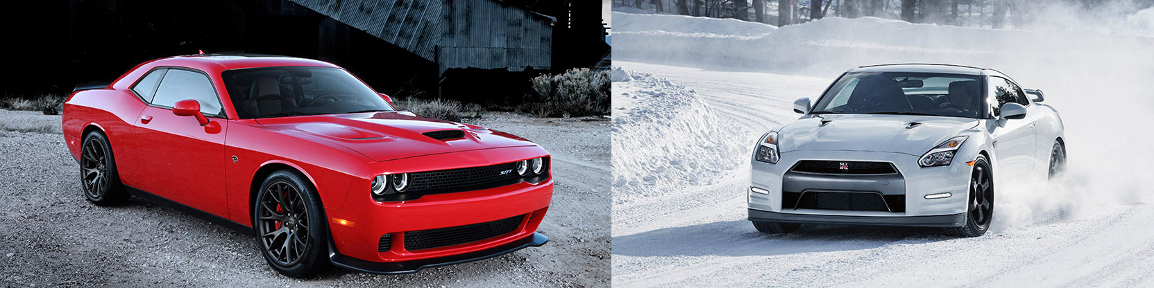Choose Your Dream Car Dodge Challenger Srt Hellcat Vs