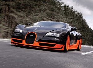 Fastest Cars in The World - 1. Bugatti Veyron Super Sport
