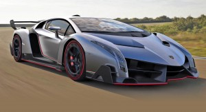 Most Expensive Cars - 1. Lamborghini Veneno