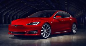 Fastest 0-60 Cars - 2. Tesla Model S P100D Ludicrous+