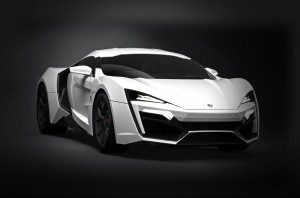 Most Expensive Cars - 2. W Motors Lykan Hypersport