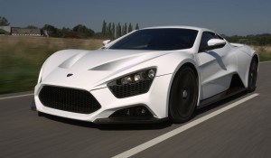 Fastest Cars in The World - 8. Zenvo ST1