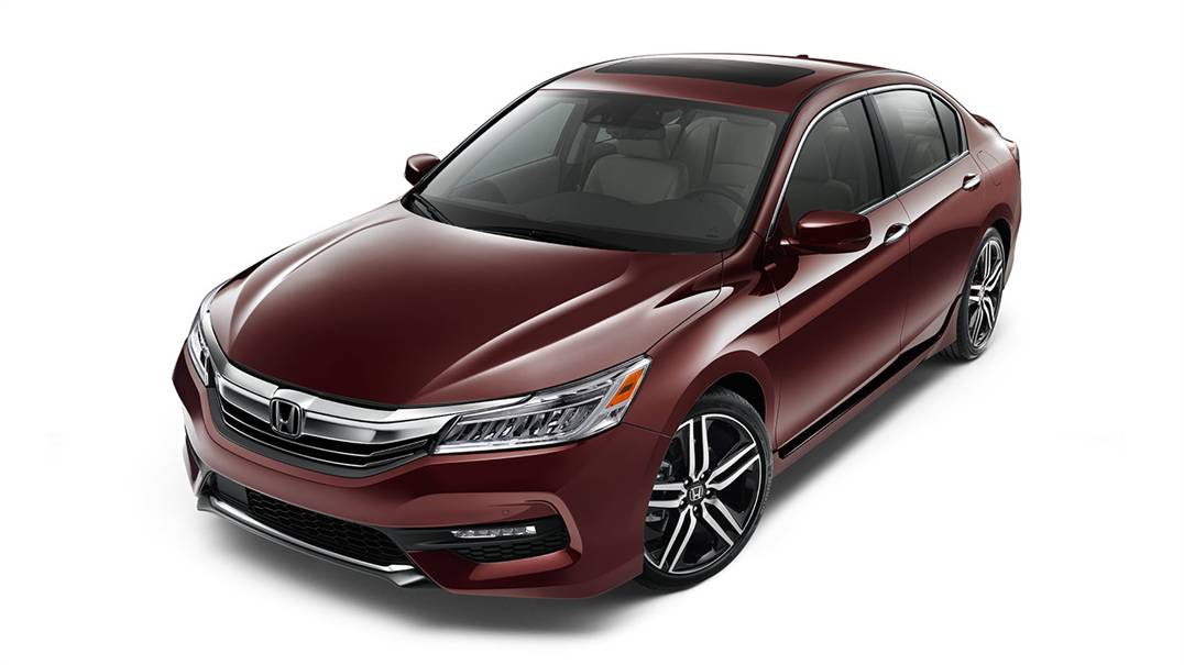 The Honda Vehicle Lineup In 2016