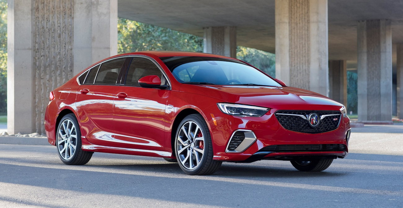 2018 Buick Regal Gs 1